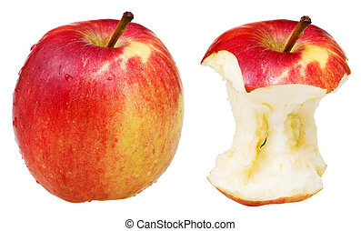 core and whole wealthy apple - apple core and whole wealthy...