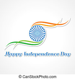 Happy Independence Day banner - Vector illustration of Happy...