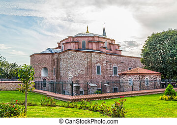 Little Hagia Sophia, Istanbul - The exterior of the Little...