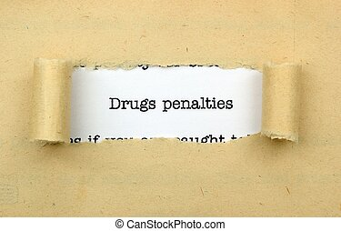 Drugs penalties