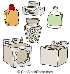 Laundry Set - An image of  laundry set.