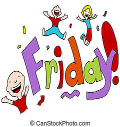 Friday Celebration - An image of a Friday celebration