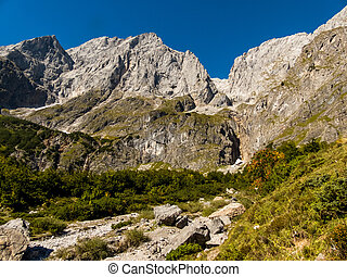 austrian mountains - mountains in the province of salzburg...