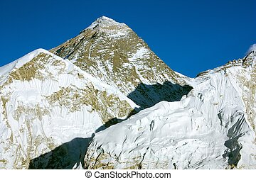 Evening view of Everest - evening view of everest from kala...
