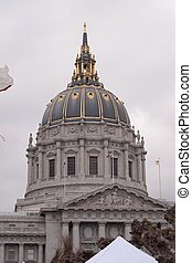 SF City Hall - City Hall of San Francisco, California,...