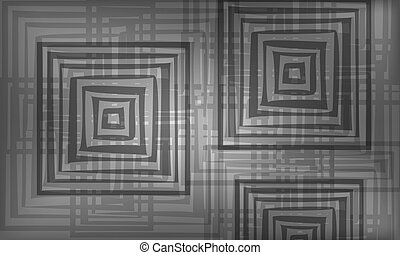 gray abstract background with abstract squares