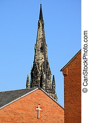 Church Spire, Lichfield - St Marys Heritage Centre Church...