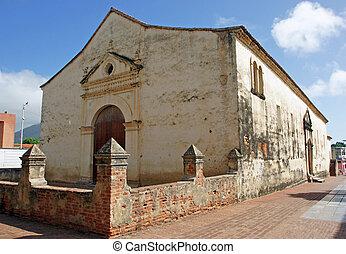Cathedral, La Asuncion, Isla Margarita, Venezuela -...