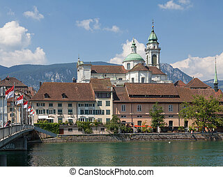 Solothurn cityscape