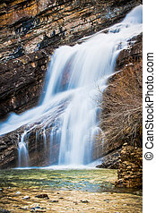 Cameron Falls of Waterton National Park, Canada