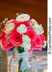Bridal Bouquet of Flowers - Wedding flowers to be held by...