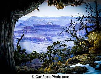 Grand Canyon Vista - Beautiful Landscape of Grand Canyon...