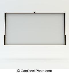 big blank box