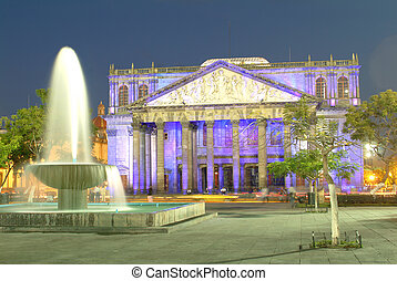 Degollado theatre in Guadalajara - Historical Theatre in...