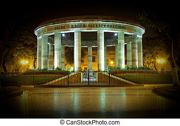 Monument in Guadalajara - Historical monument in...