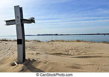 Breezy Point 911 Memorial, Queens, NY Platform contains 29...
