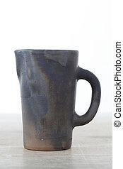 Antique ceramic mug