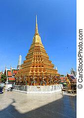 Golden Pagoda at Grand Palace, Thailand