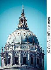 San Francisco City Hall is Beaux-Arts architecture and...