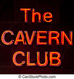 The Cavern Club in Liverpool.