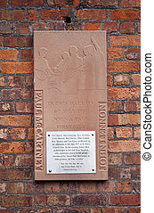 Plaque Commemorating the Meeting of Lennon and McCartney - A...