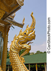 Serpent - Arts is the belief of Buddhism in temples...
