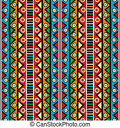 Ethnci motifs in various colors