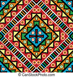 Religious texture with ethnic motifs