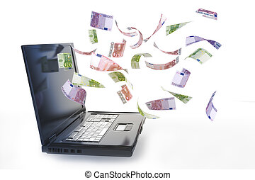 Online money with your computer.