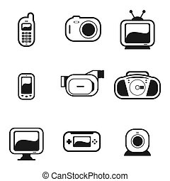 Electronic Gadgets - A set of electronic gadgets