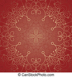 Background with lace ornament and space for your text...