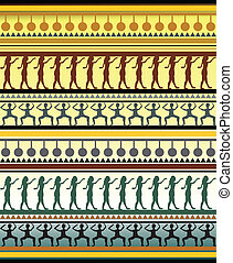 Illustration of african, traditional pattern