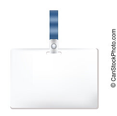 Name Tag on white background Clip-art, Illustration