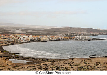 Concept Image Of Seascape In Tenerife