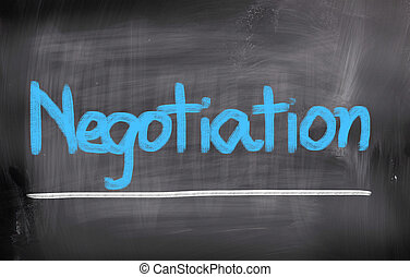 Negotiation Concept