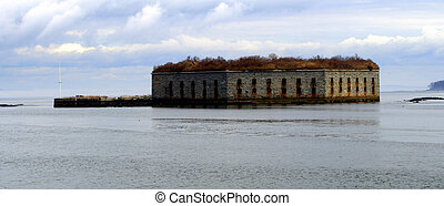 Fort Gorges Portland Maine USA - Fort Gorges George Portland...