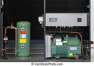 Heat exchanger pump