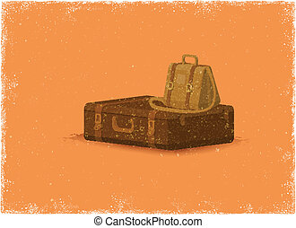 Antique baggage