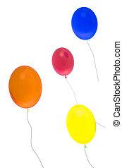 氦, 气球