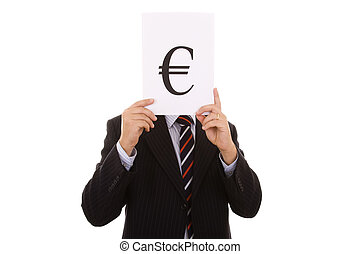 euro businessman - the euro businessman behind the money...