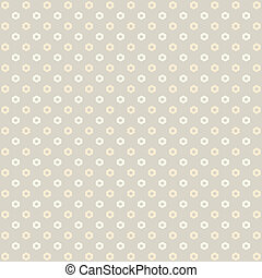 Background with a flower pattern. Vector.