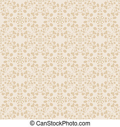 neutral floral wallpaper. plant swirls and curves - neutral...