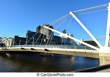 Seafarers Bridge - Melbourne - MELBOURNE,AUS - APR 14...