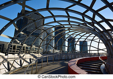 Webb Bridge - Melbourne - Webb Bridge at Melbourne Docklands...