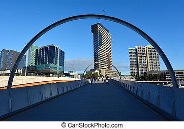Webb Bridge - Melbourne - MELBOURNE,AUS - APR 14...