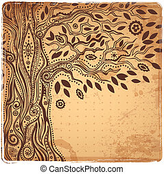 Unique ethnic tree of life - Beautiful Unique ethnic tree of...