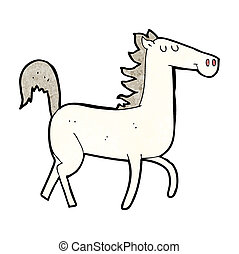 cartoon horse