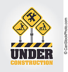 Under Construction design - Under construction design over...