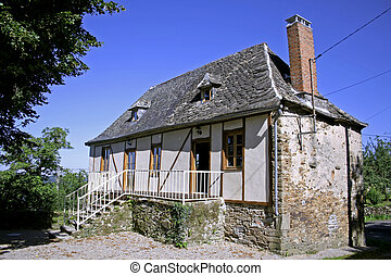 old stone house - newly renovated old bard in correze,...