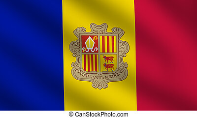 Andorra Flag - Flag of Andorra